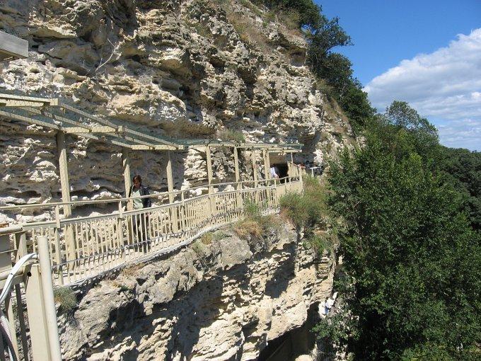 FotoGaleria: Bułgaria 2010, Skalny monastyr Aładża z IV